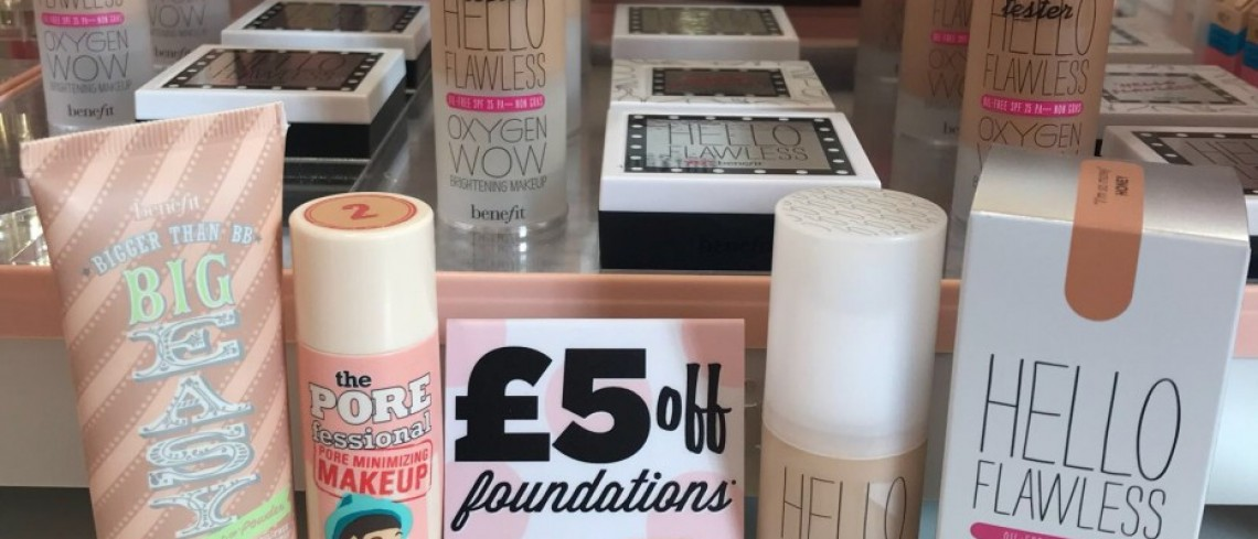 £5 off Benefit Foundation