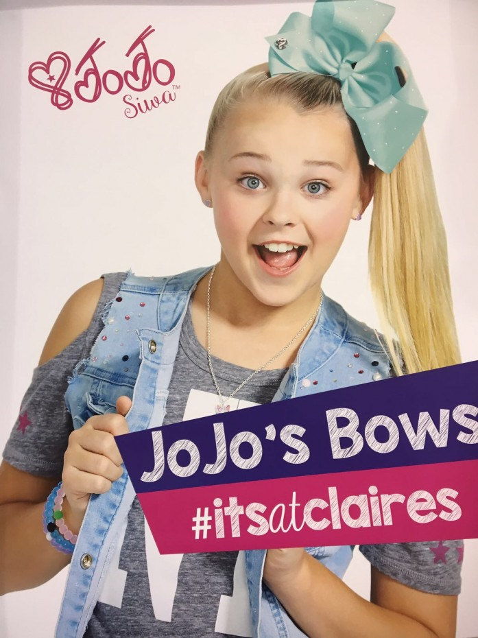 Jo Jo's Bows are back at Claires