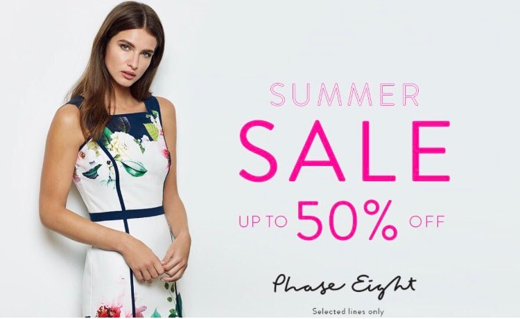 High Summer Sale at Phase Eight