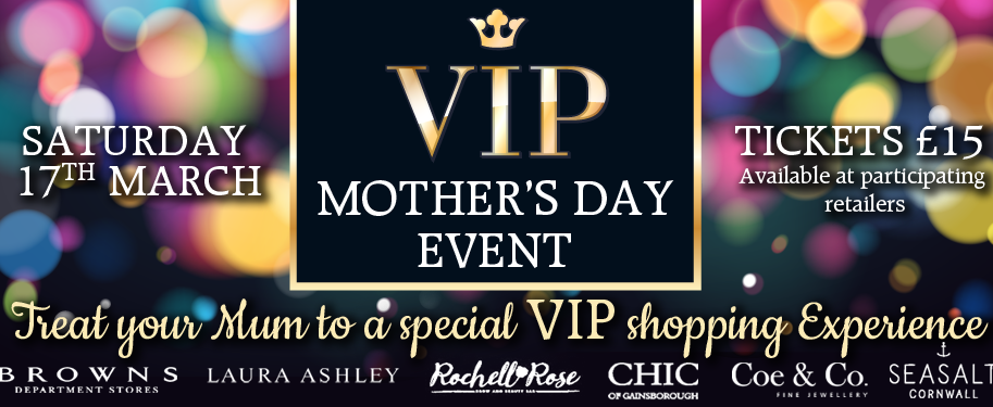 VIP Mother's Day Shopping Experience