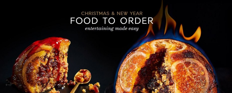 Marks and Spencer <b>Christmas Food Order</b> - Retail shopping at ...
