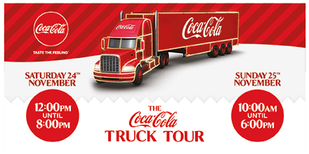 The Coca Cola Truck Visits Gainsborough