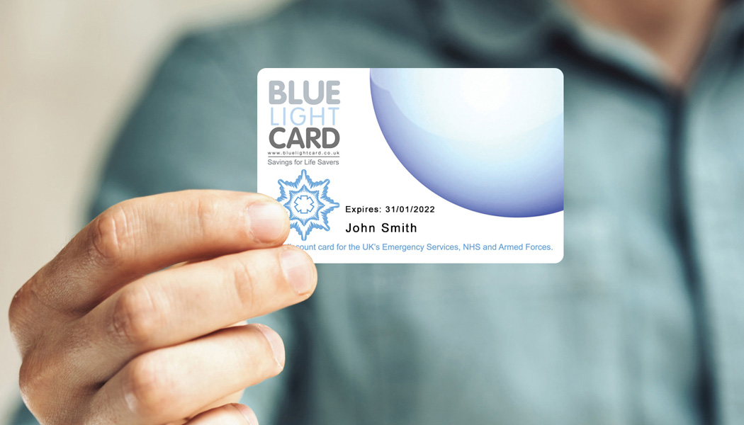 Blue Light Card discount