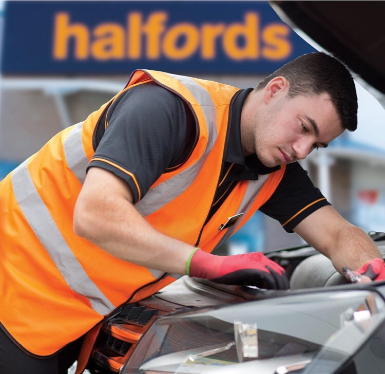 Free winter car check from Halfords