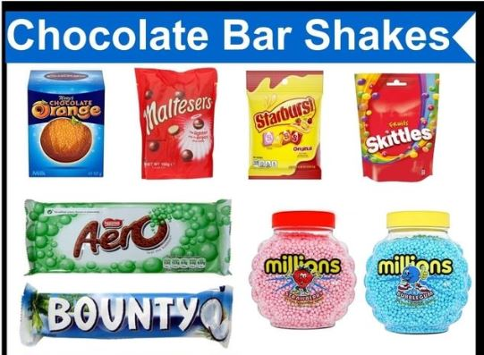 NEW Chocolate Bar Shakes from Cup-Cakes