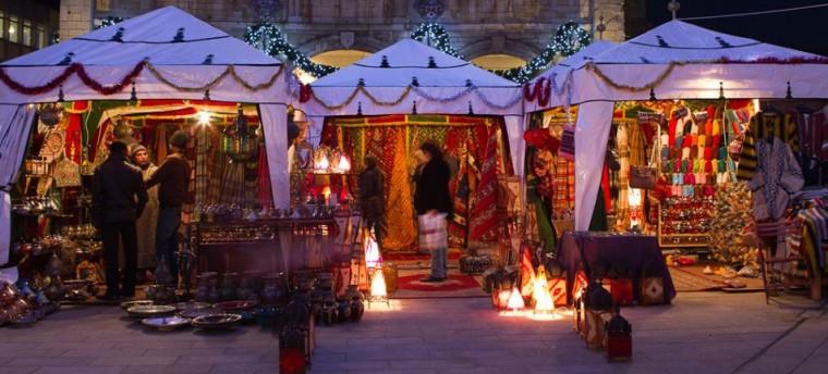 Moroccan Christmas Market - Retail shopping at Marshall's Yard ...