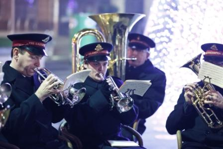 Gainsborough Salvation Army Brass Band Performance