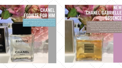 Fragrance of the month for Him & Her from Browns Department Store!