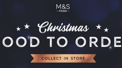 Christmas Food to Order at M&S Foodhall!