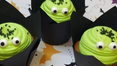 Get your hands on a spooky treat at Cup-cakes!