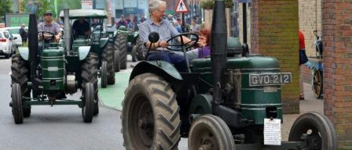 Yard Gear's up for popular Tractor Rally event for Father's Day