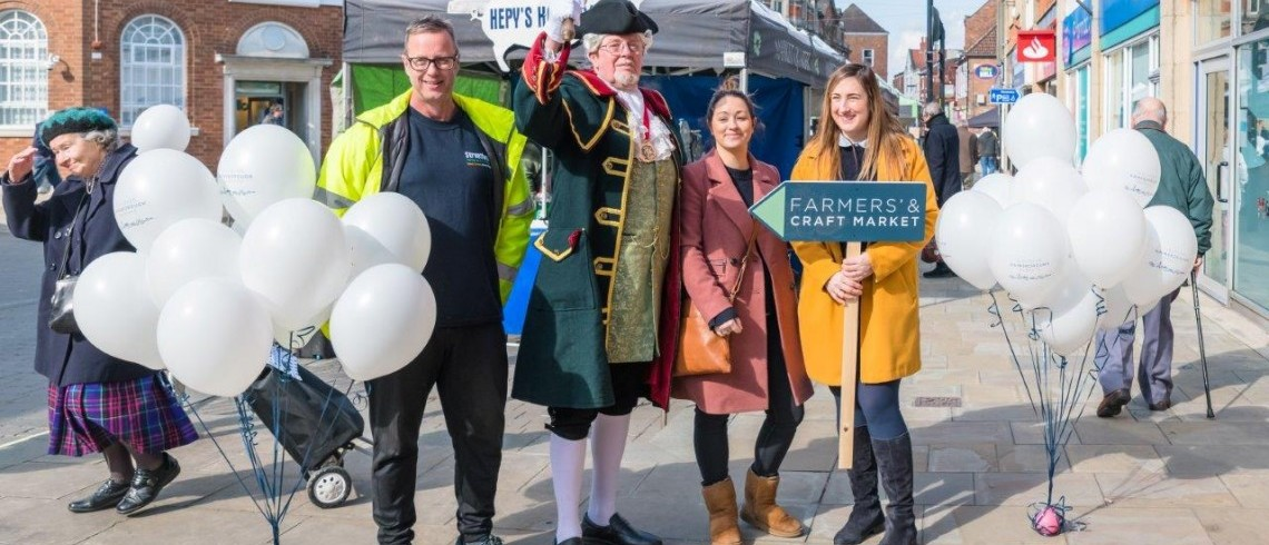 New look Farmers and Craft Market Launch Success!