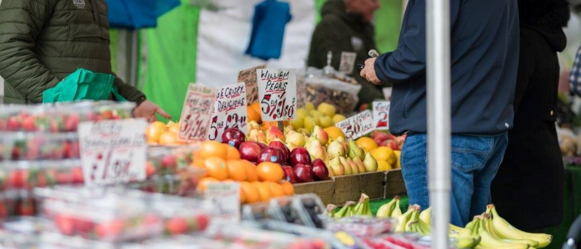 Shop local this New Year at Gainsborough's monthly Farmers' Market!