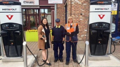 Marshalls Yard is powered up with new electric car charging points