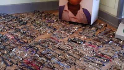 Local shoppers donate thousands of specs to Africa